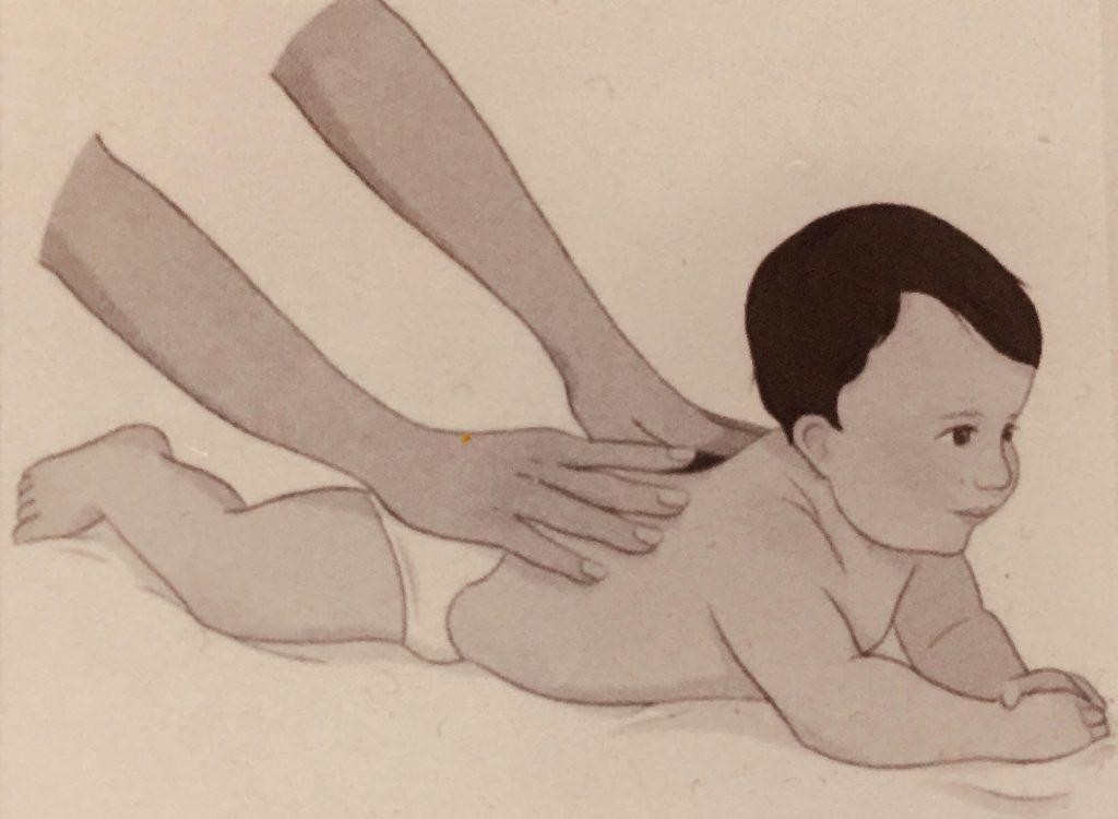 Baby Back Massage Technique