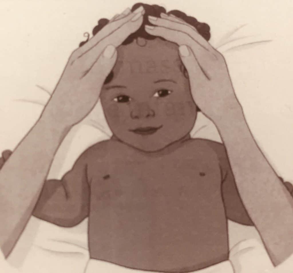 Baby Face Massage Technique