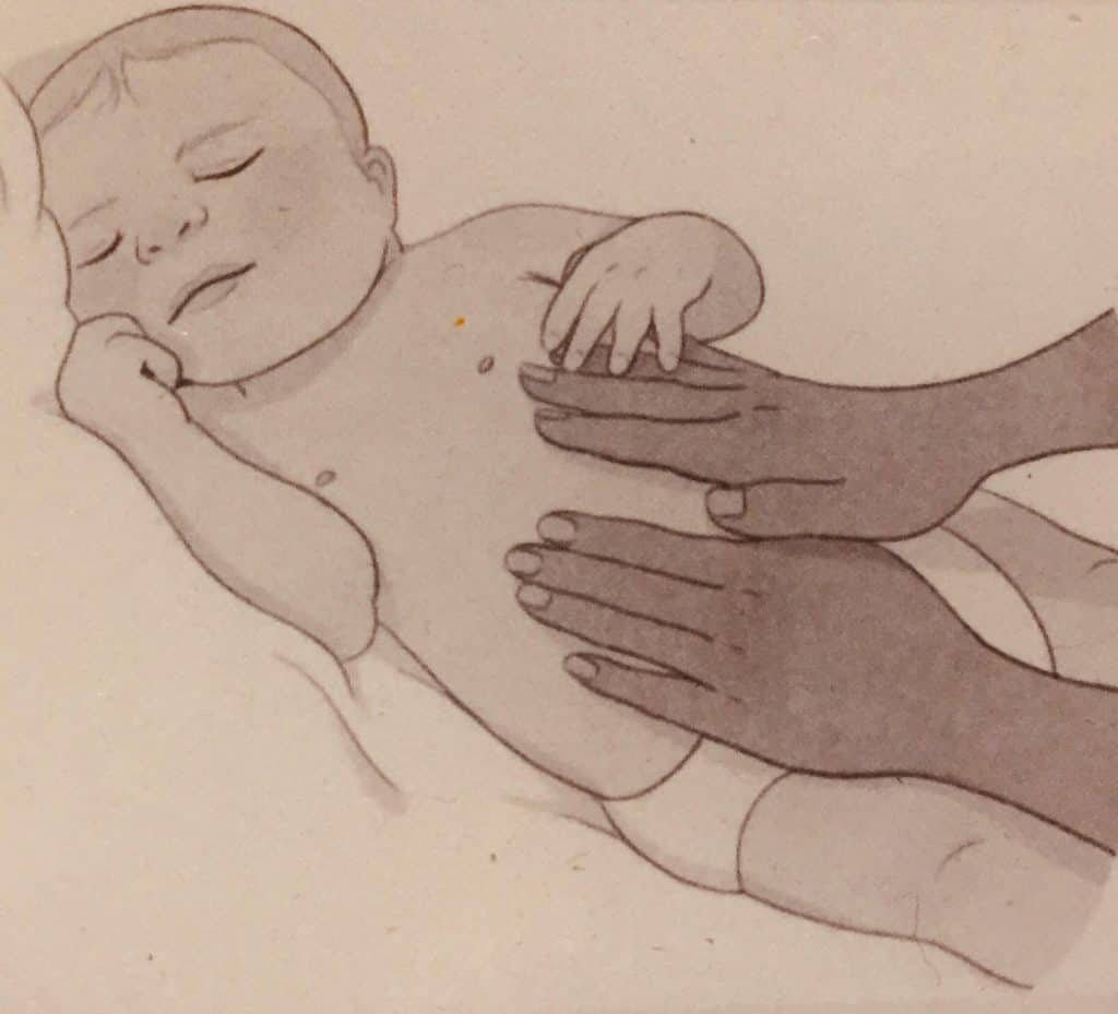 Stomach Massage for Babies